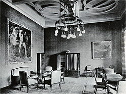 Reception room at the Ministry of Foreign Affairs