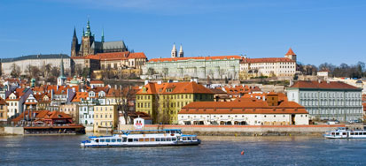 Prague, the capital of the Czech Republic